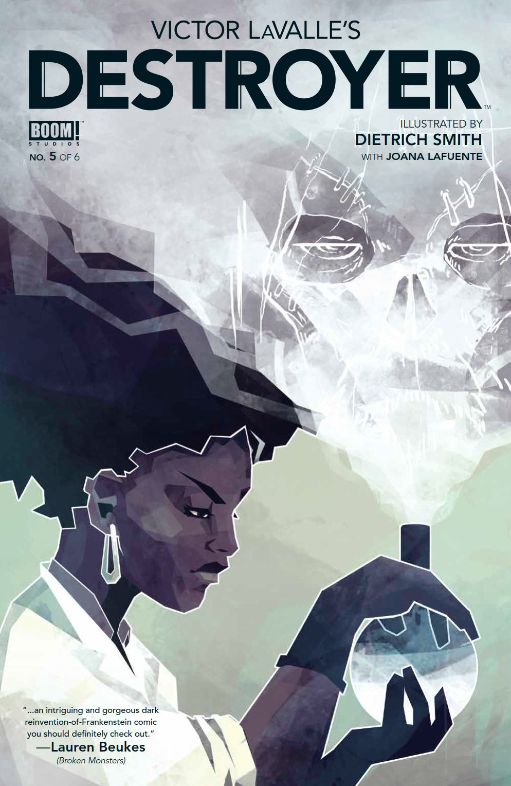 VICTOR LAVALLE'S DESTROYER #5 (OF 6)