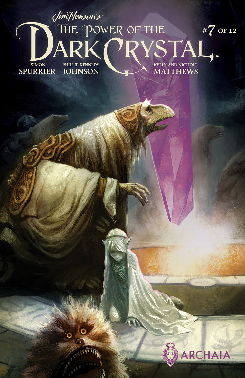 POWER OF THE DARK CRYSTAL #7 (OF 12)