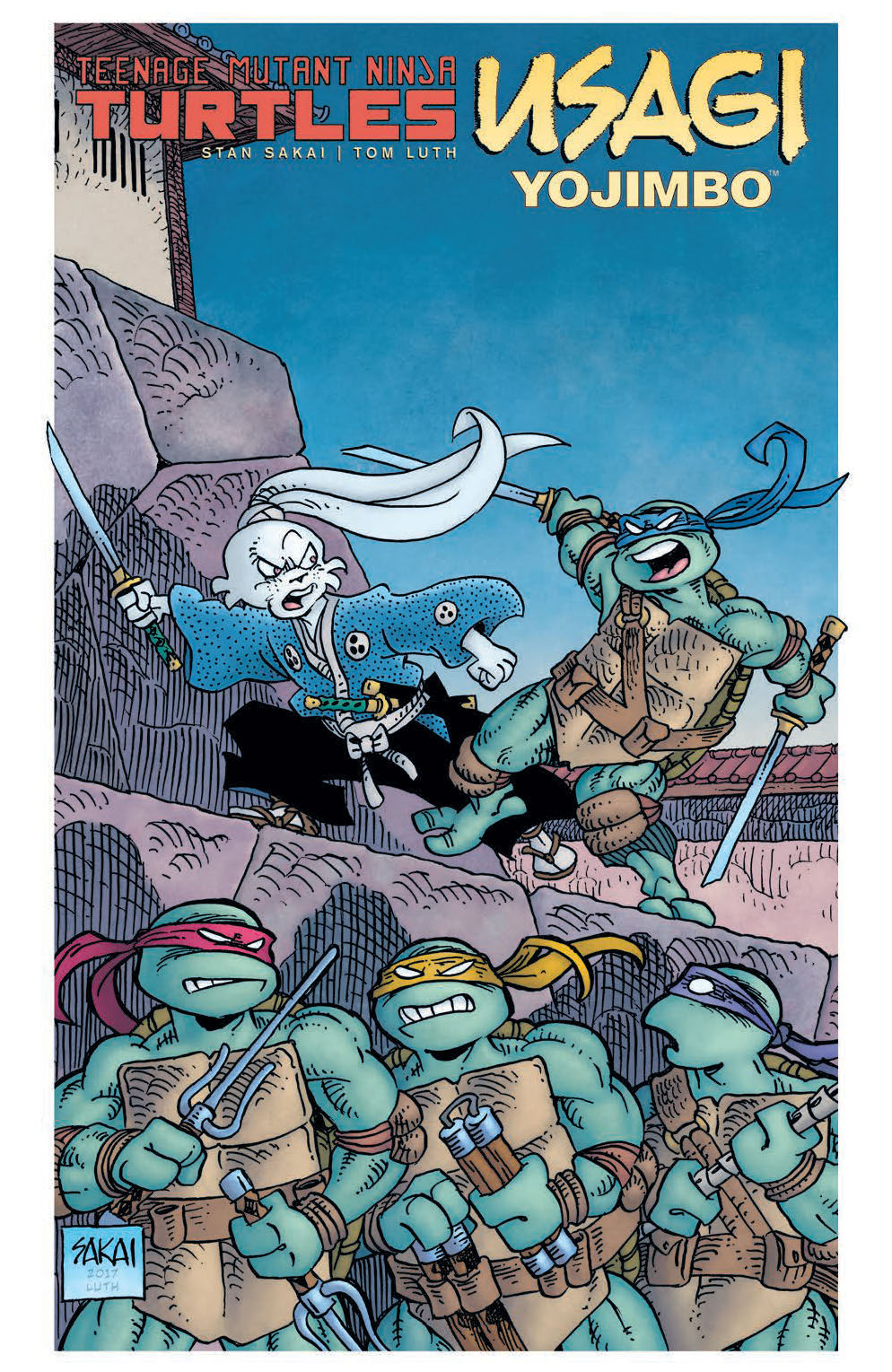 TMNT/Usagi Yojimbo – Hardcover Edition