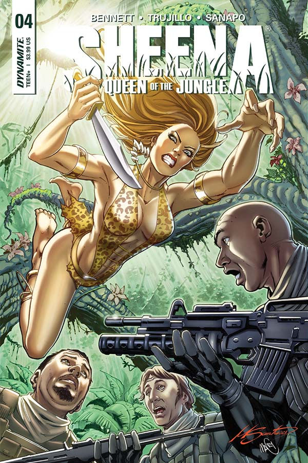 Sheena: Queen of the Jungle #4