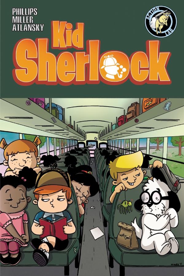 KID SHERLOCK VOLUME 1