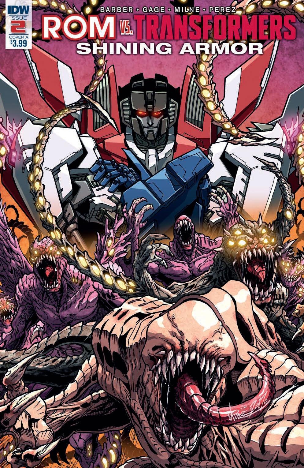Rom Vs. Transformers: Shining Armor #2 (of 5)