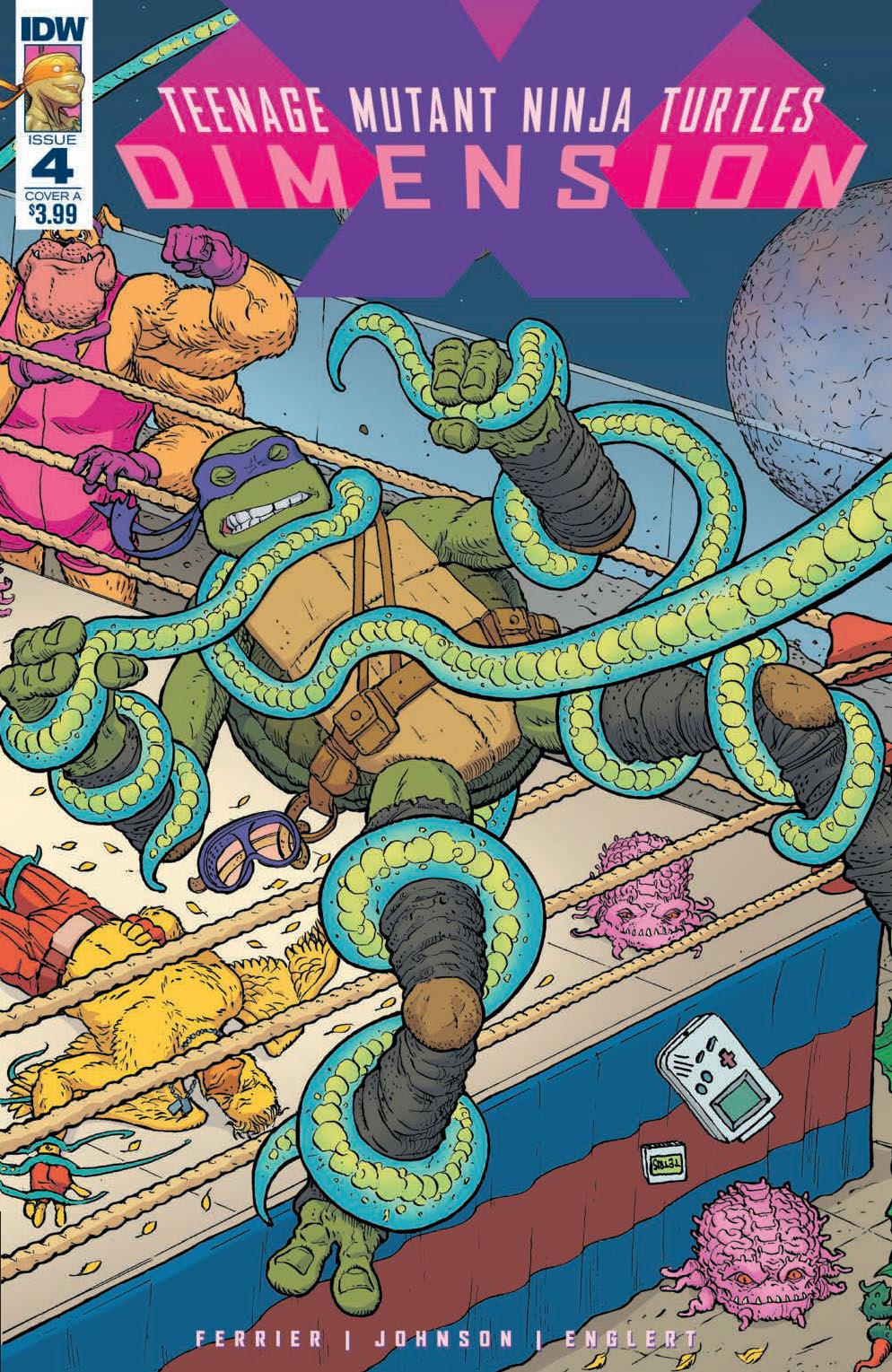 Teenage Mutant Ninja Turtles: Dimension X #4