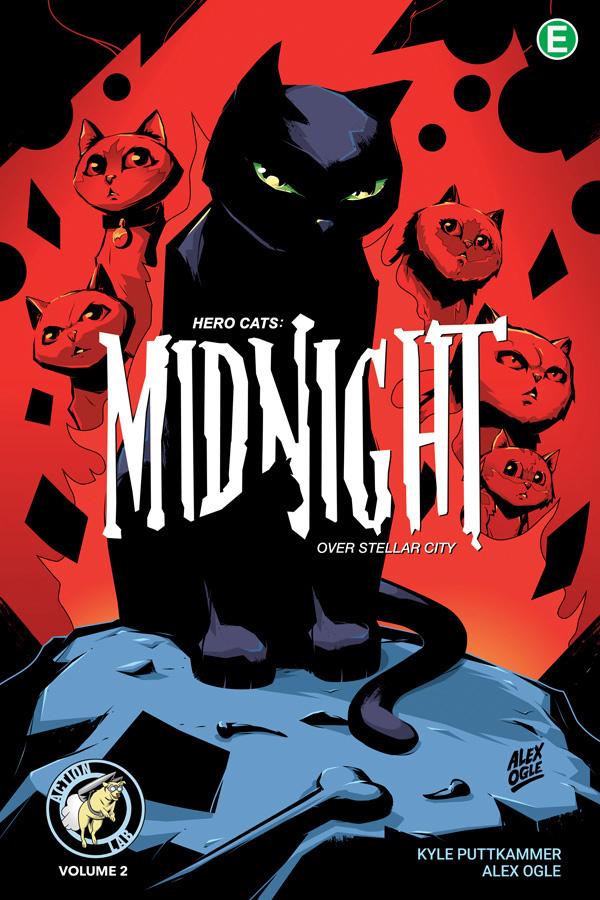 Hero Cats: Midnight Over Stellar City Volume 2 TPB