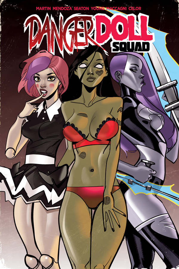DANGER DOLL SQUAD TPB