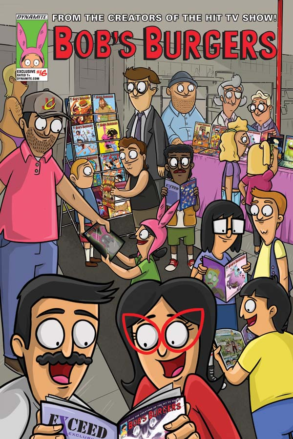 Bob's Burgers #16 Exclusive Cover