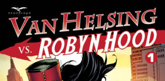 Van Helsing vs Robyn Hood #1 Cover_Zenescope Entertainment