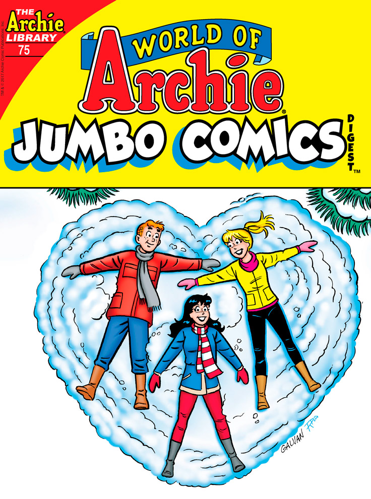 WORLD OF ARCHIE JUMBO COMICS DIGEST #75