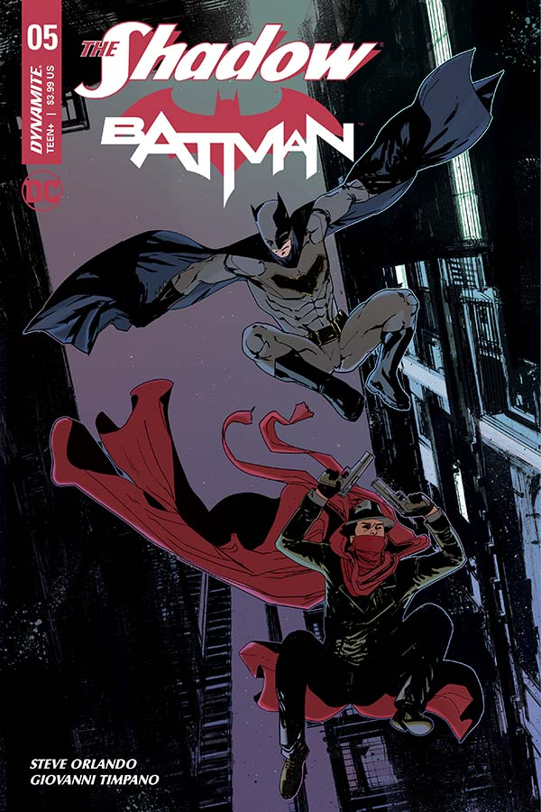 The Shadow / Batman #5