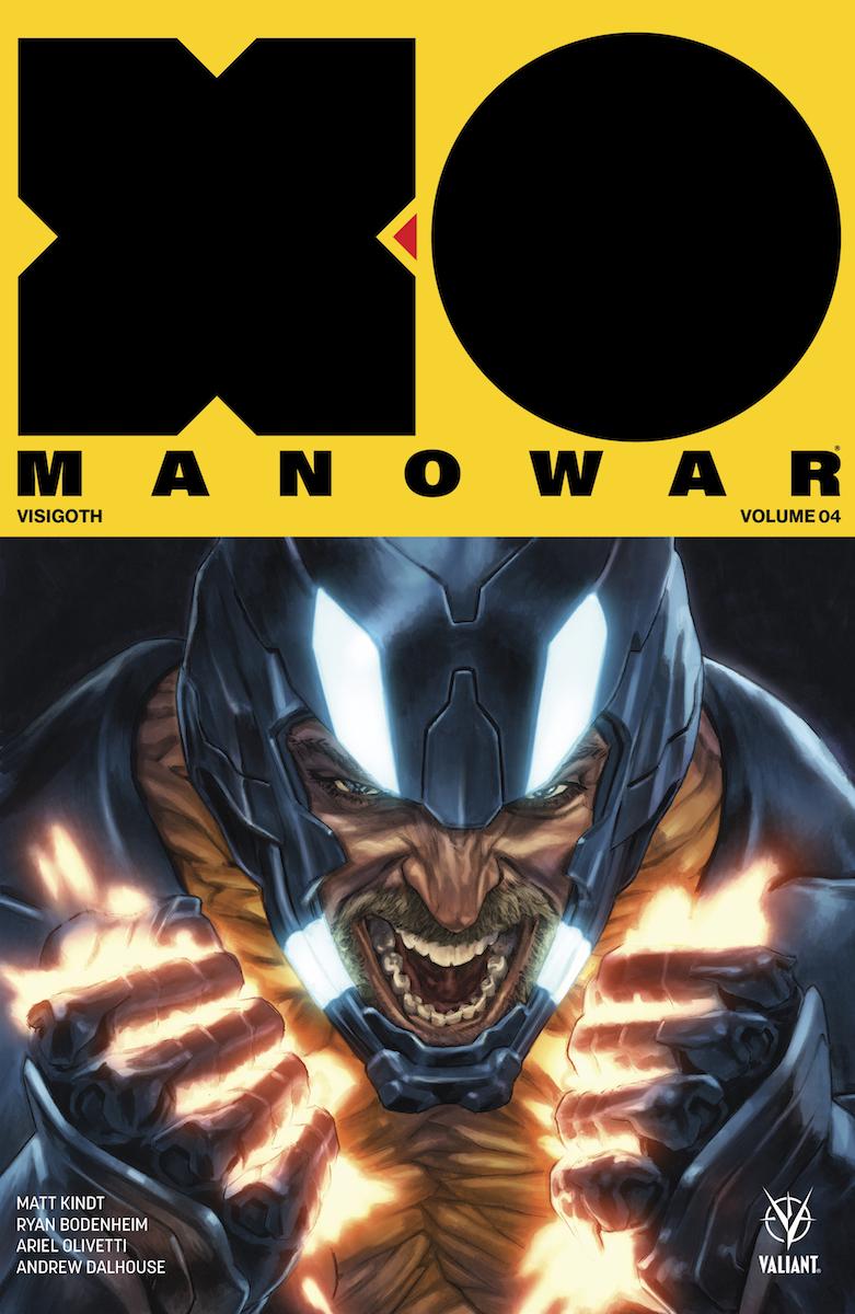 X-O MANOWAR VOL 4: VISIGOTH TPB