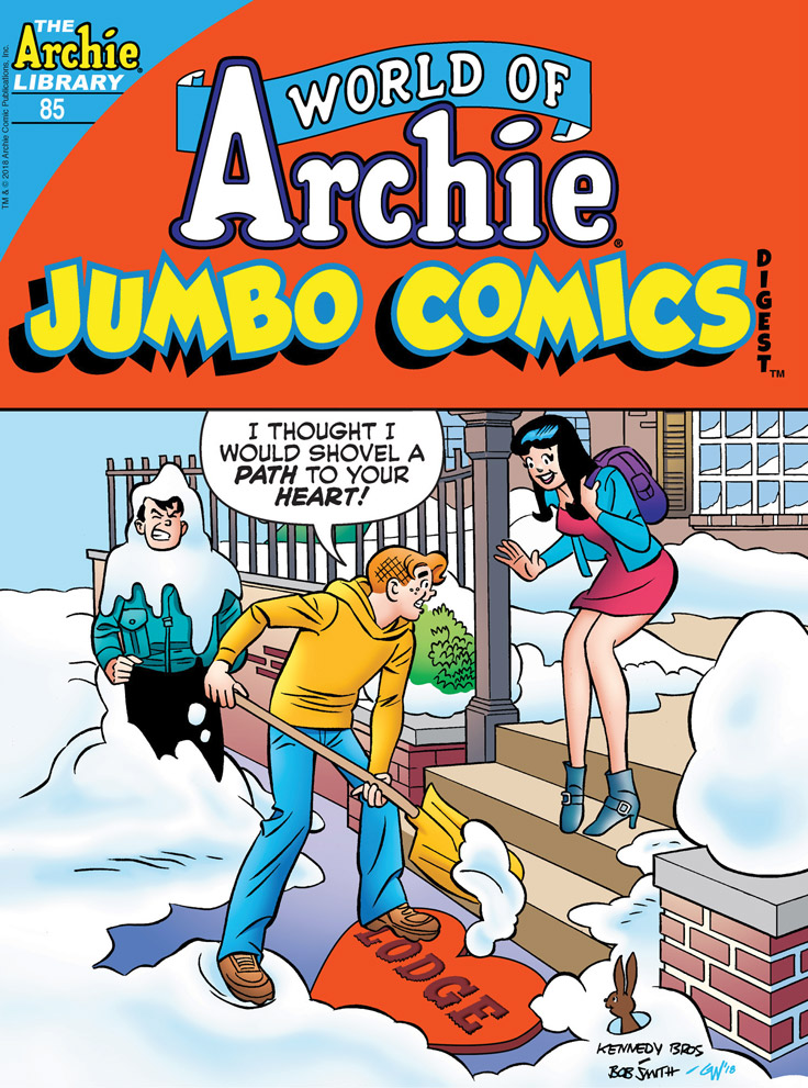 WORLD OF ARCHIE JUMBO COMICS DIGEST #85