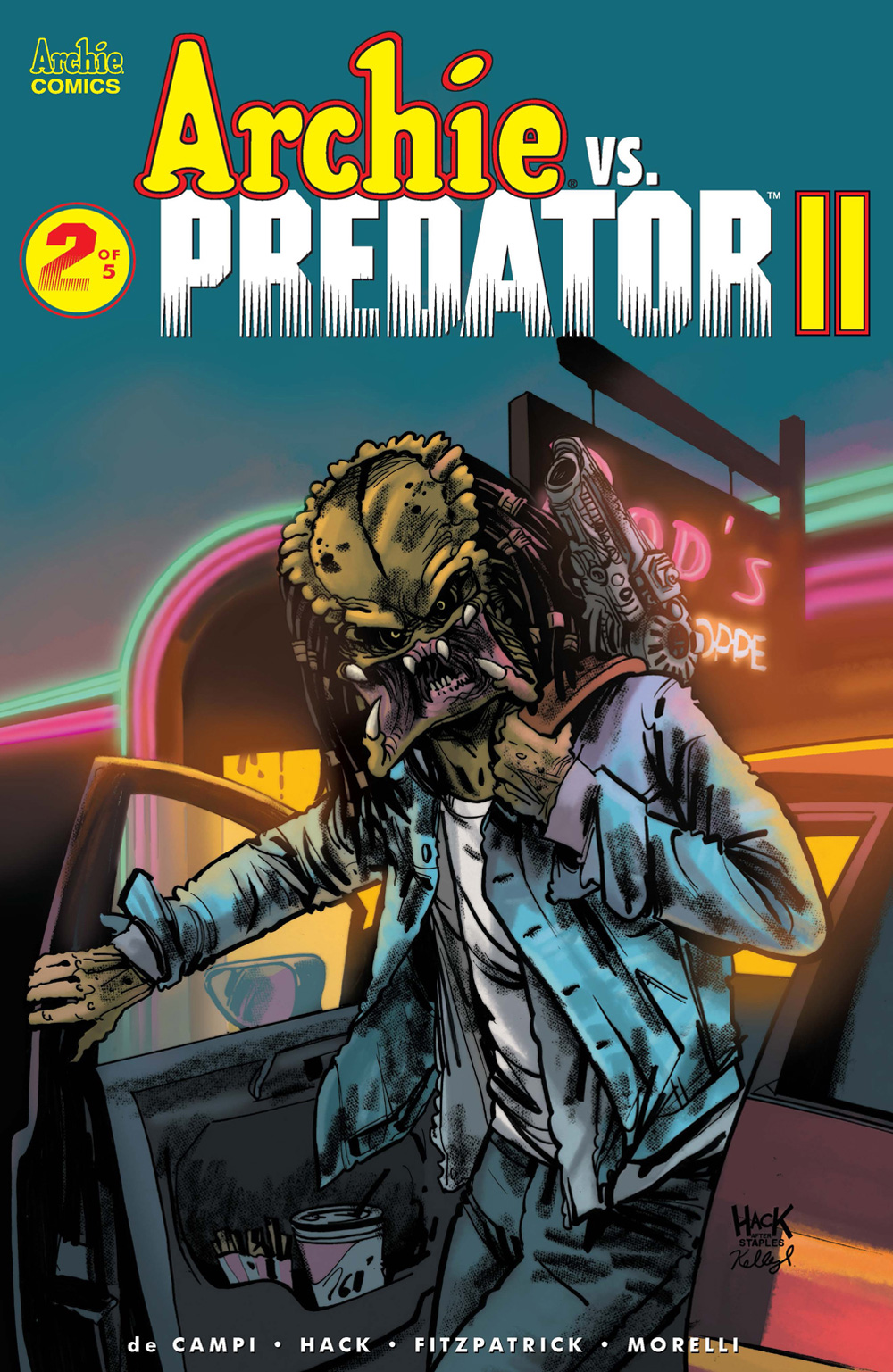 ARCHIE VS. PREDATOR 2 #2