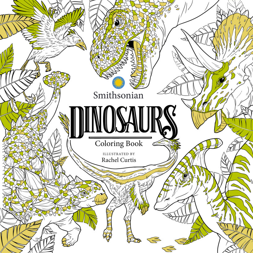 The Smithsonian Institution and IDW Publishing Debut New Line of Coloring Books