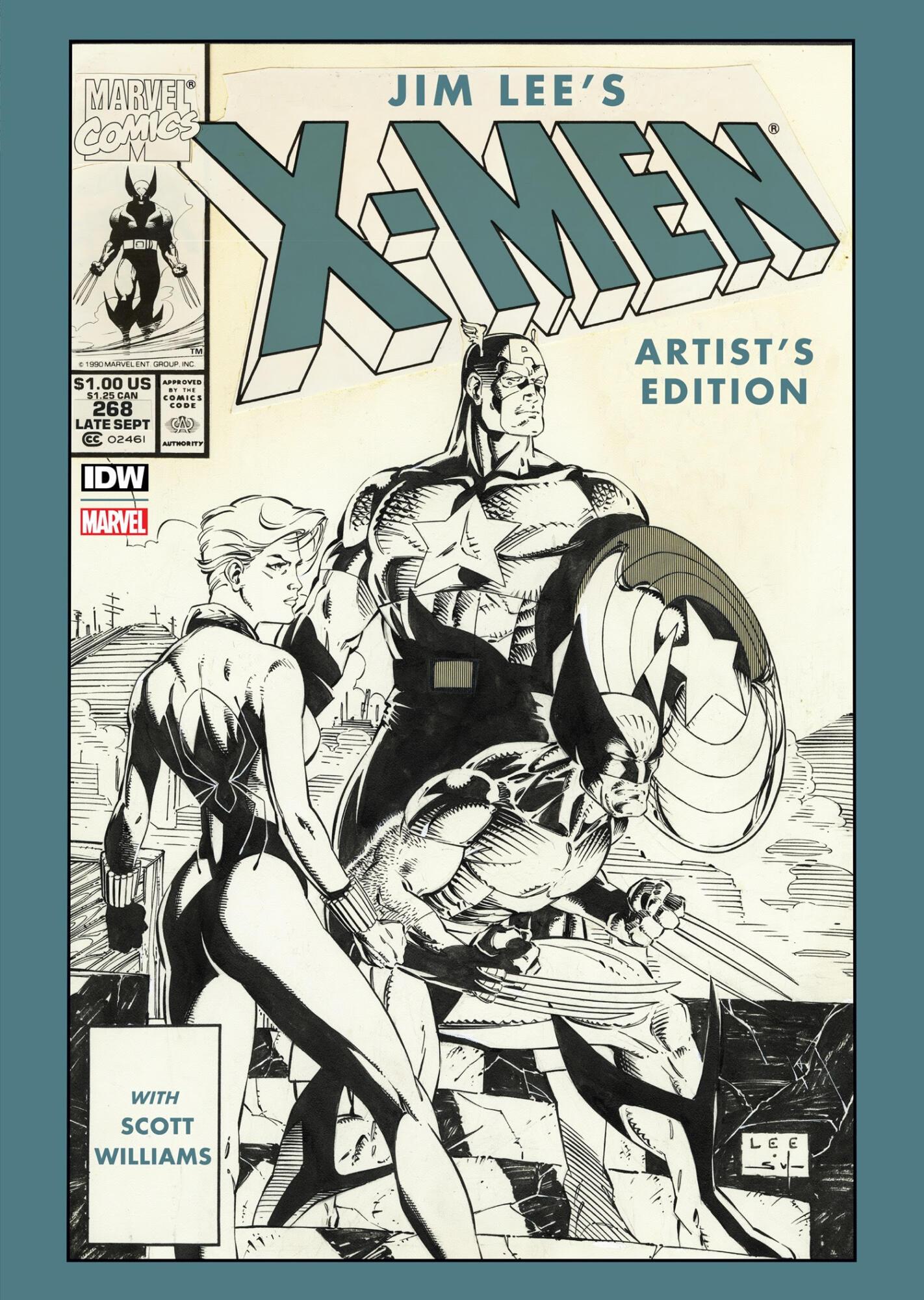 IDW Presents Jim Lee's X-Men Artist's Edition